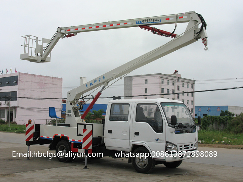 ISUZU aerial vehicle