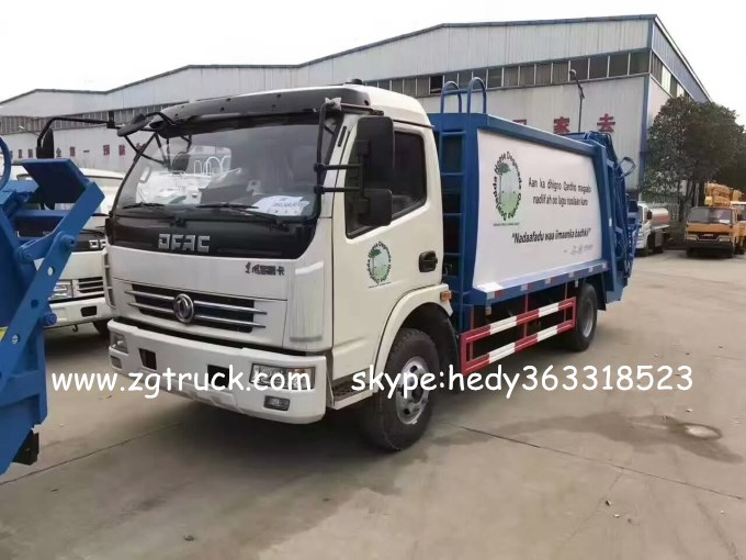 Dongfeng DLK compression garbage truck