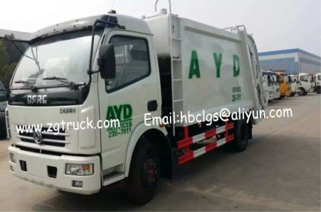 Dongfeng FRK compression garbage truck